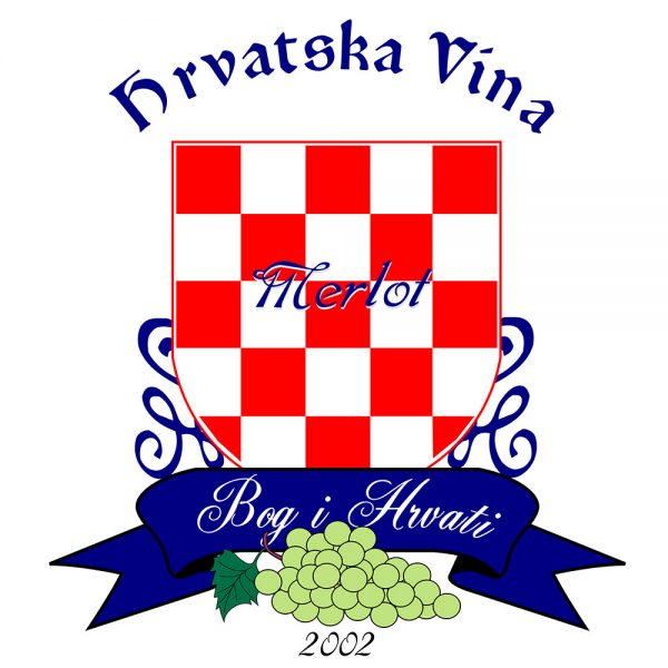 Grgas Wine Label