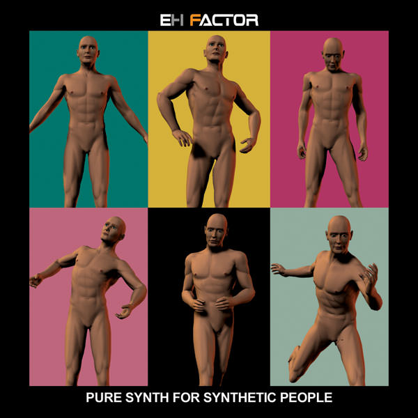 Pure Synth for Synthetic People CD Cover