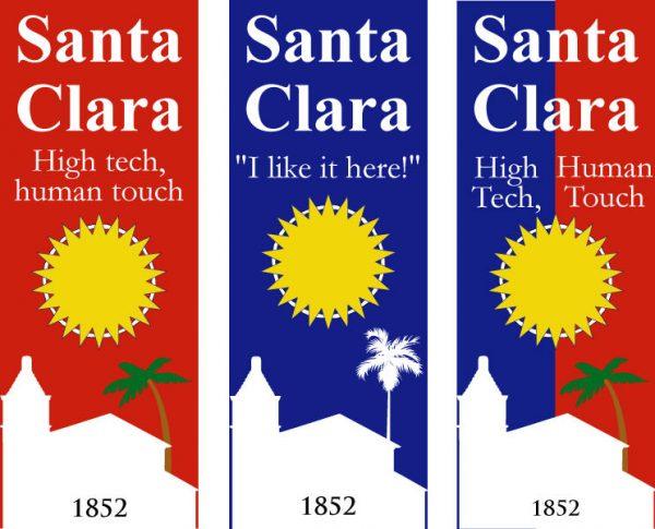 Santa Clara Banner Contest Submissions