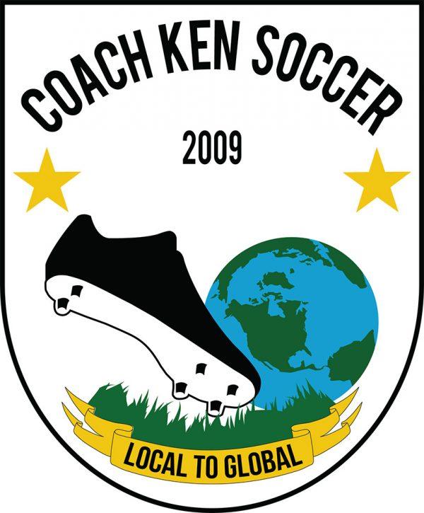 Coach Ken Soccer Logo (2018)